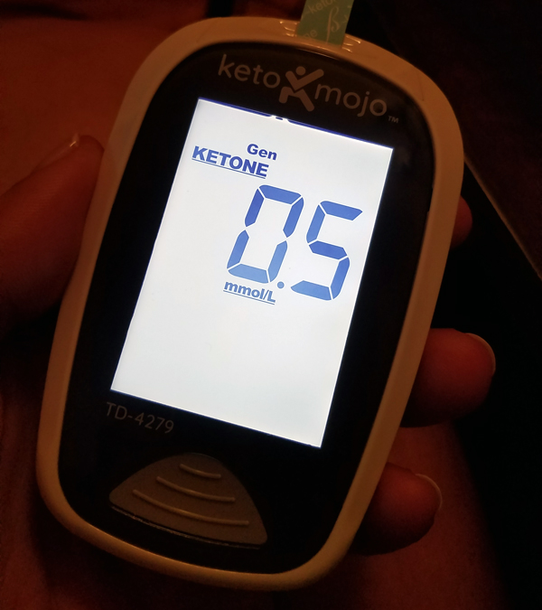 Keto Mojo - Low Ketone Reading
