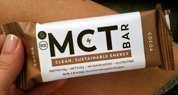 Original MCT Bar from MCT Co