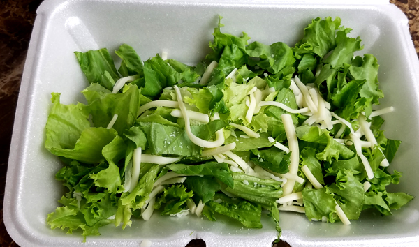 Romaine and Mozzarella - Low Carb Foods