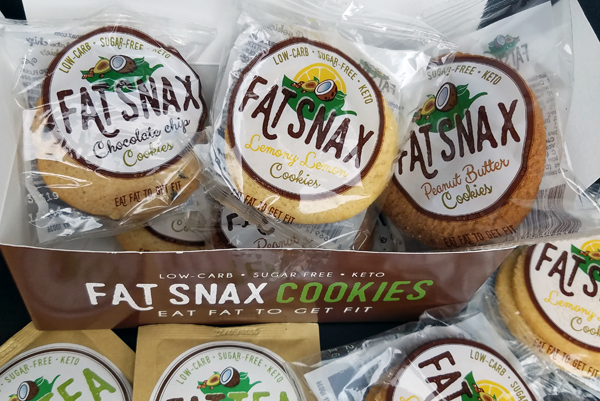 FatSnax Variety Pack - Keto Cookies, Very Low Carb and LCHF