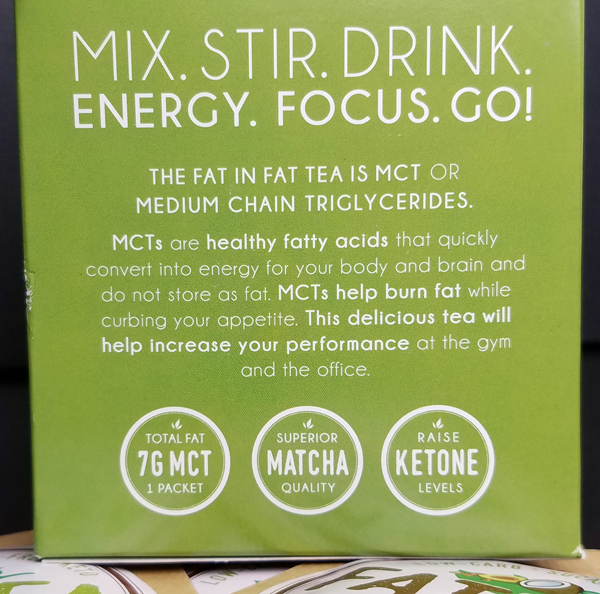 Fat Tea MCT Matcha - for a Ketone Fueled fix!