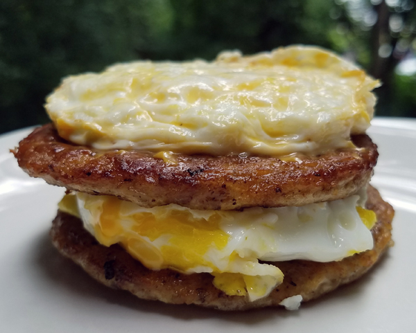 Keto Breakfast Stack - Sausage and Eggs from McDonald's - Low Carb Fast Food
