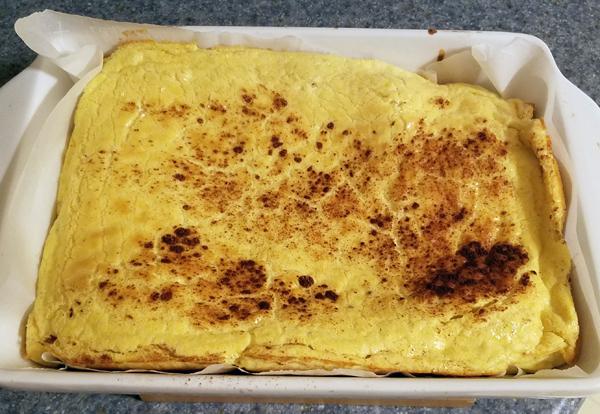Keto Egg Loaf - Easy LCHF Recipe!