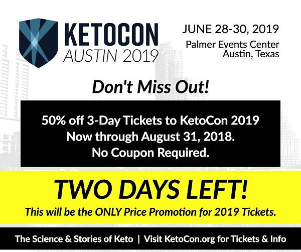 KetoCon 2019 - Keto Conference, Austin TX