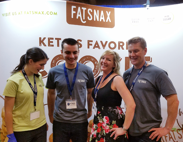 LowCarbTraveler with FatSnax at KetoCon