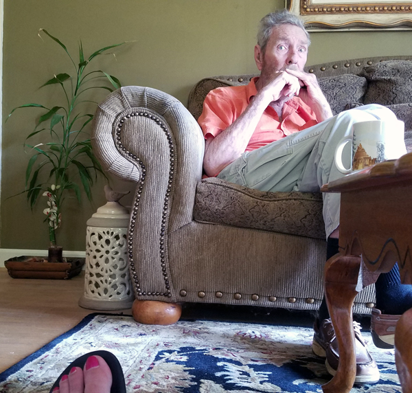Special moments with aging parents