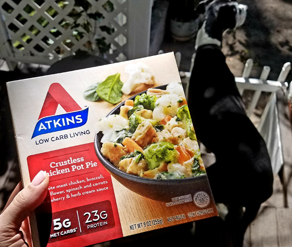 Atkins Crustless Chicken Pot Pie