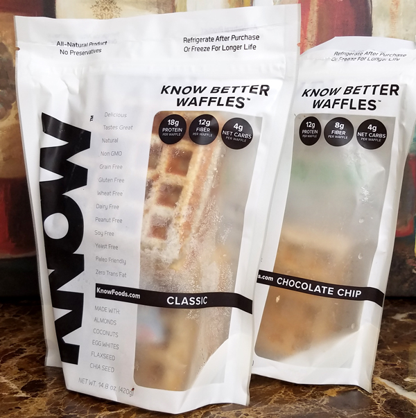Know Keto Waffles - Low Carb Freezer Foods