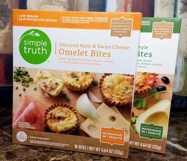 Simple Truth Omelet Bites - Keto Freezer Meals