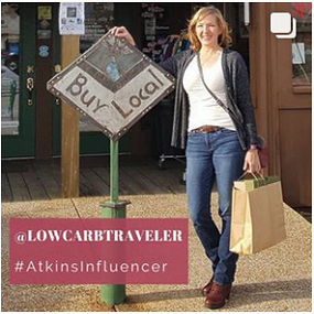 Lynn Terry, Atkins Influencer, Low Carb Traveler living Keto