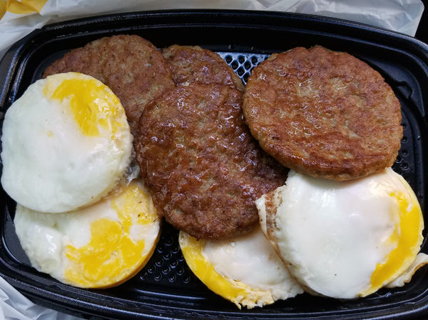 Low Carb McDonald's Breakfast Menu - All Day Breakfast