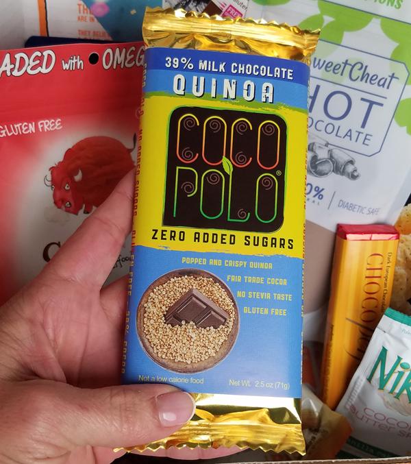 Low Carb Quinoa Chocolate Bar - Coco Polo Keto Chocolate