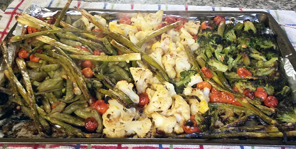 Roasted Low Carb Vegetables - Easy Keto Side Dishes