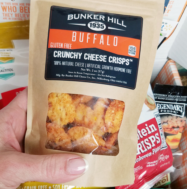 Bunker Hill Cheese Crisps in Keto Krate
