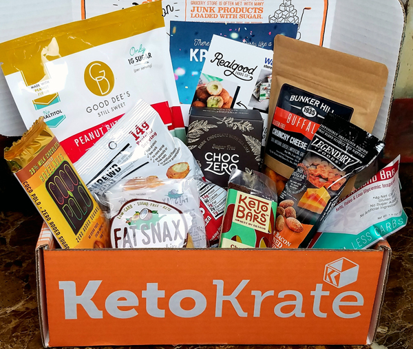 December Keto Krate Review - A Box Full of Low Carb Fun!