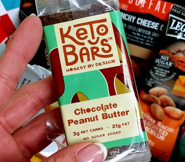 Low Carb Chocolate Peanut Butter Keto Bars