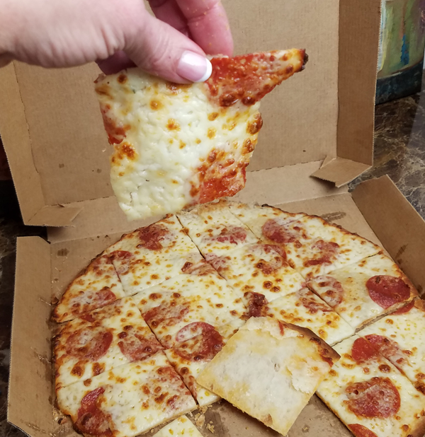 Low Carb Domino's Delivery - KETO WARNING