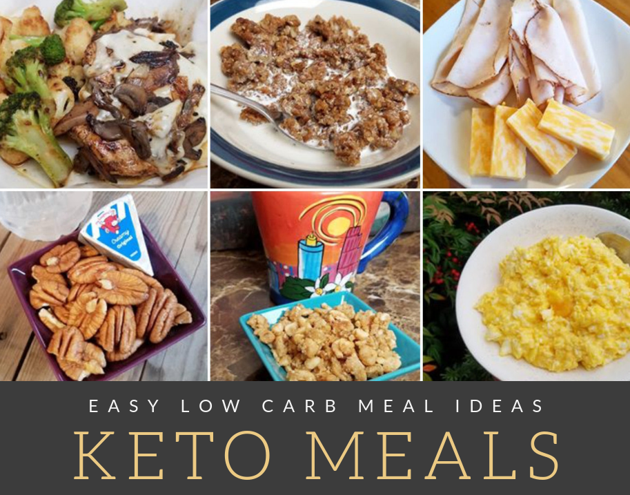 Easy Keto Meal Ideas - Low Carb Food Diaries