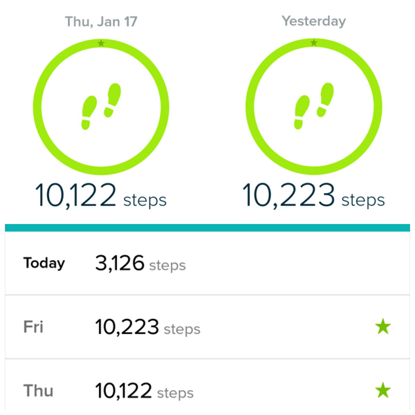 Fitbit Exercise Goals