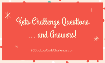New Year Keto Challenge Questions