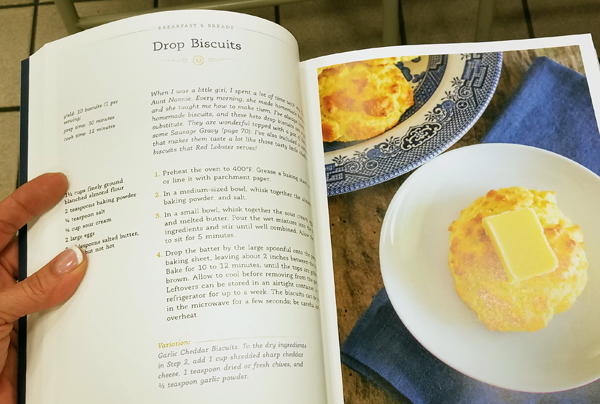 Keto Drop Biscuits Recipe in Southern Keto Cookbook