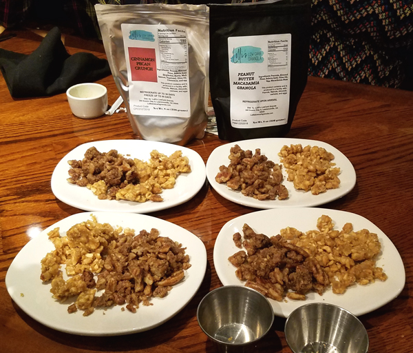 Keto Taste Testing at our Meetup - Keto Granola Dessert