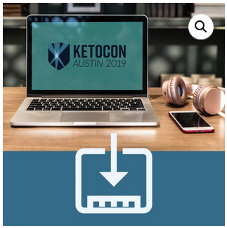 Download Ketocon Presentations with the Digital Ticket