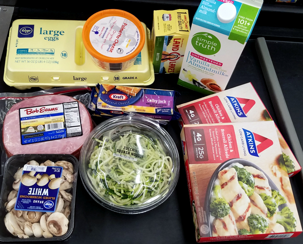 Keto Groceries at Kroger