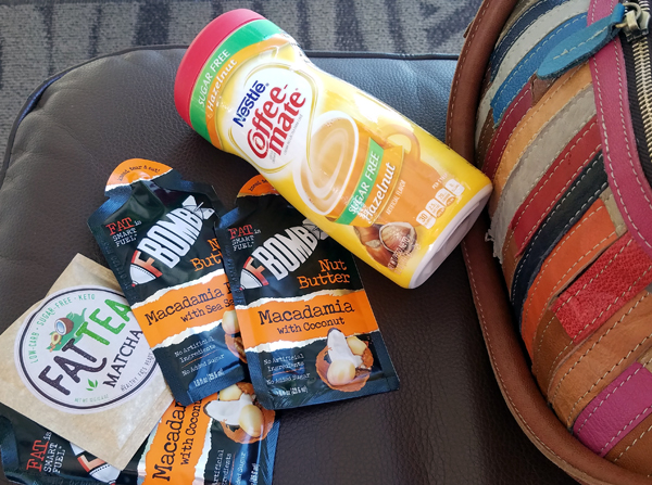 Keto Travel Tips - Flying with Keto Snacks