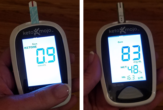 Maltodextrin Insulin Spike Test - Blood Sugar and Ketone Levels were fine