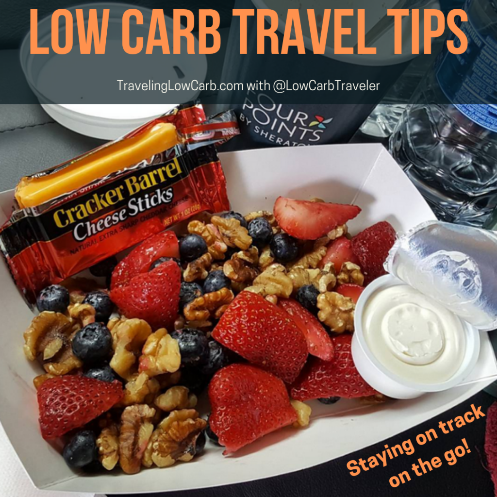 Low Carb Travel Tips - Staying On Track On The Go!