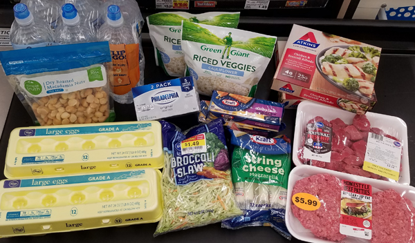 Keto Grocery Staples from Kroger