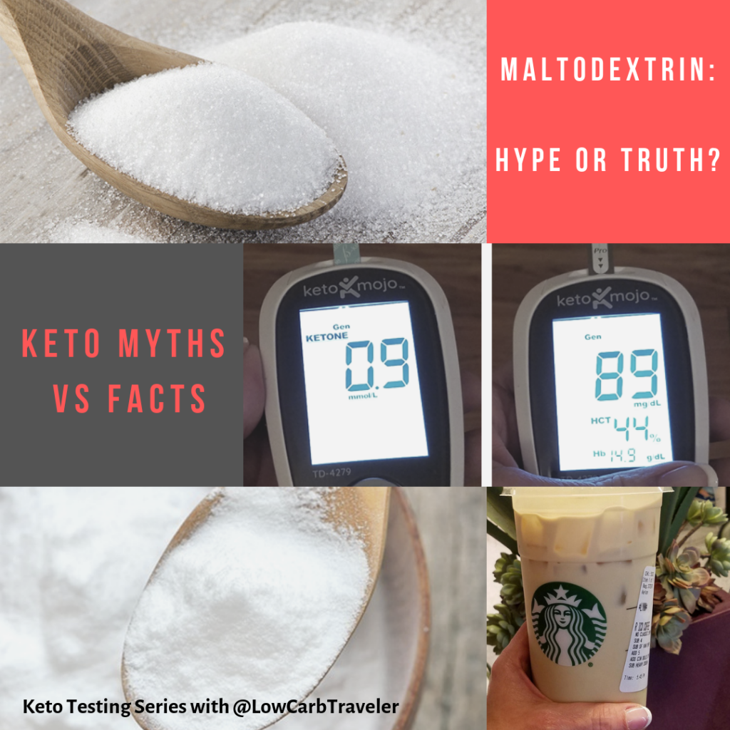 Keto Myths: Maltodextrin Hype or Fact?