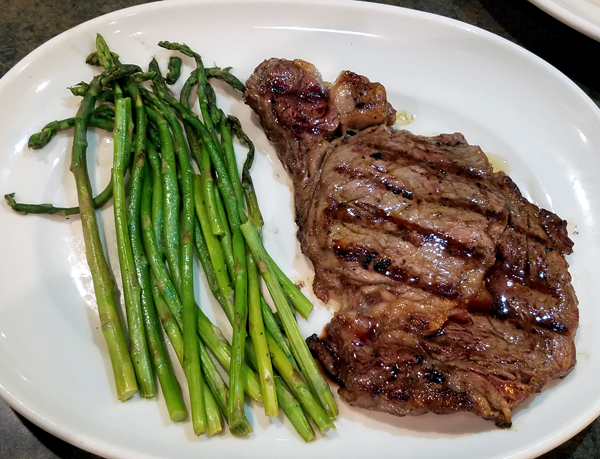 Keto Restaurant Meals at Legends Steakhouse
