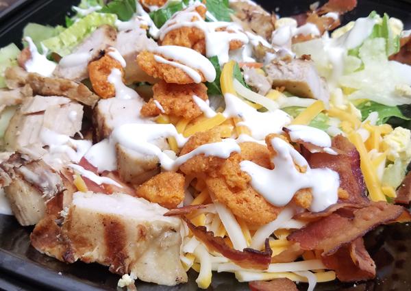 Keto Salad Ideas - Keto Croutons