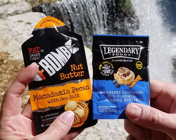 Portable Keto Nut Butter Packs