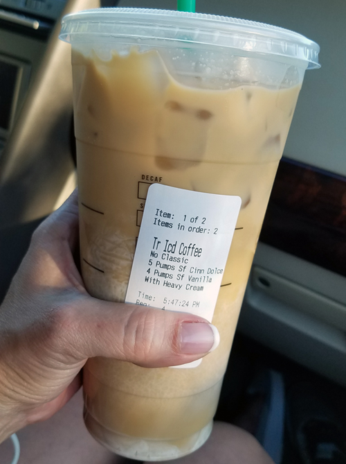Starbucks Keto Order - Low Carb Road Trip