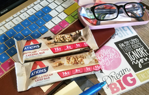 Atkins Bars - Low Carb Meal Replacement At Work