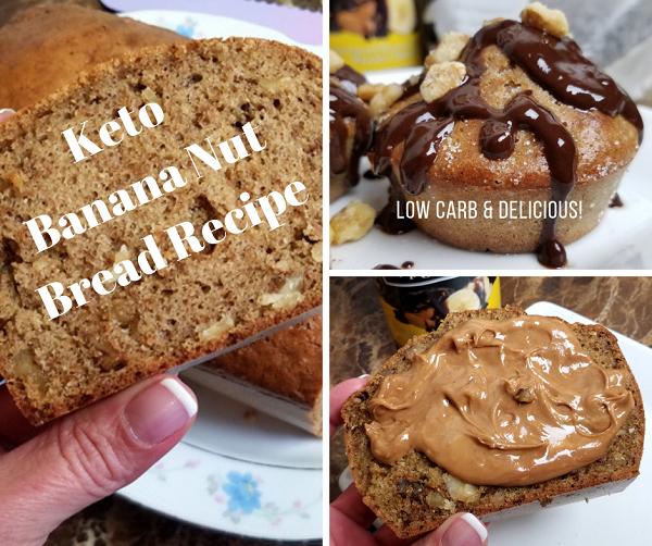 Keto Banana Bread Recipe