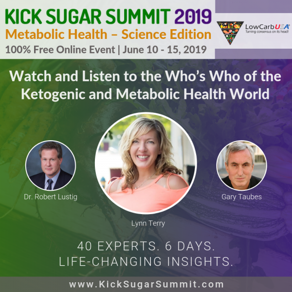 Kick Sugar Summit - Keto Event on Metabolic Health