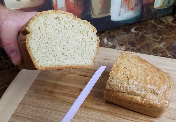 Low Carb Loaf Bread Recipe