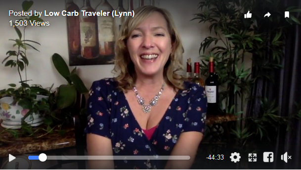 LowCarbTraveler Video - Live with Lynn Terry