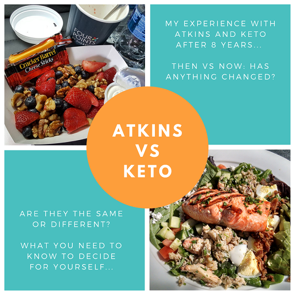 Atkins vs Keto - Low Carb Lifestyle