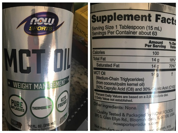 NOW Sports MCT Oil Review