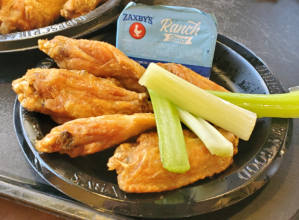 Zaxby's Wings Keto Fast Food