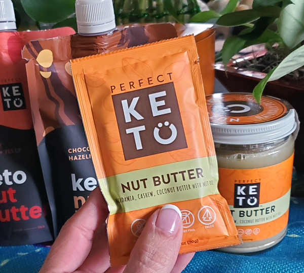 Perfect Keto Single Serve Nut Butter Packets GONE