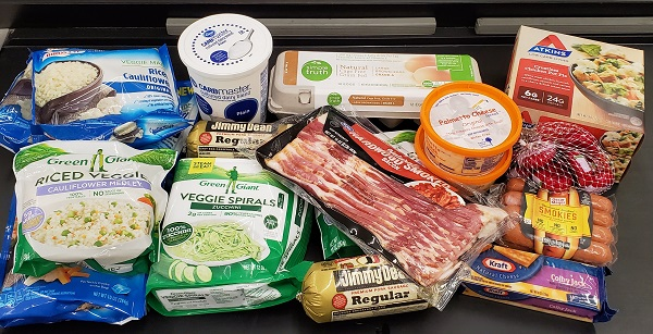 Keto Grocery Shopping at Kroger