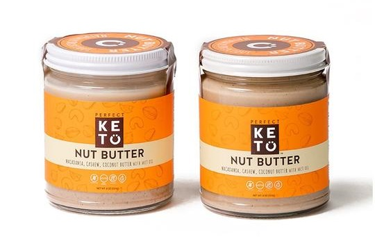 Perfect Keto Nut Butter Jars