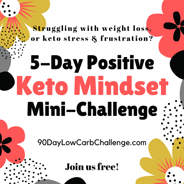 Positive Weight Loss Mindset Keto Challenge
