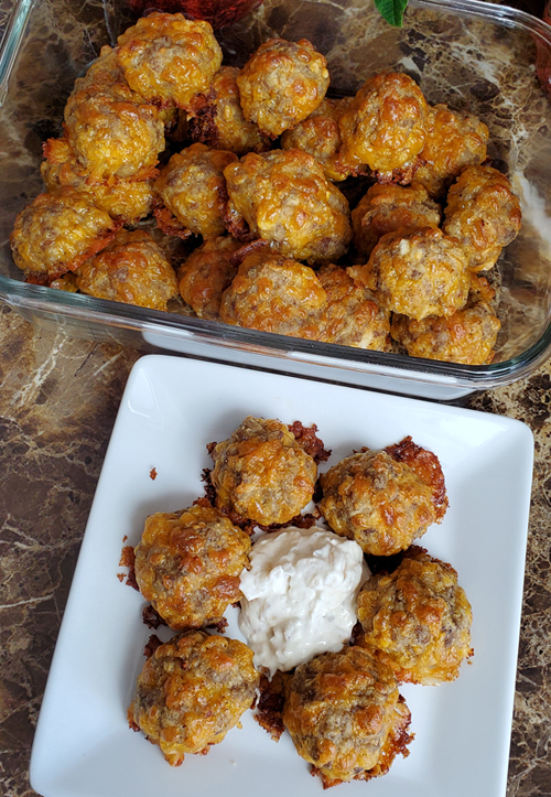 Keto Recipe for Sausage Balls